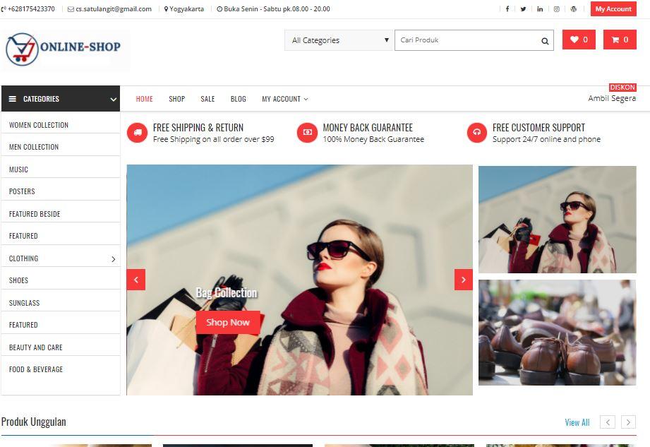 Web Toko Online Murah